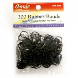 ANNIE 300 RUBBER BANDS (300PCS)