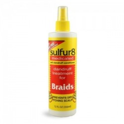 SULFUR 8 MEDICATED ANTI DANDRUFF BRAIDS SPRAY