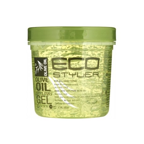ECO STYLE GEL, OLIVE OIL