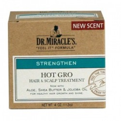 DR MIRACLE'S STRENGTHEN HOT GRO HAIR & SCALP TREATMENT