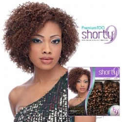 HUMAN HAIR BLEND WEAVE SENSATIONNEL PREMIUM TOO SHORTY BOHEMIAN
