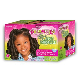 OLIVE MIRACLE RELAXER KIT NO-LYE CREME RELAXER SYSTEM