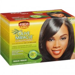 African Pride Olive Miracle Conditioning Anti-Breakage Regular No-Lye Relaxer