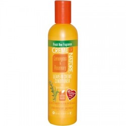 Creme Of Nature Lemongrass & Rosemary Leave-In Creme Conditioner, 8.45 fl oz