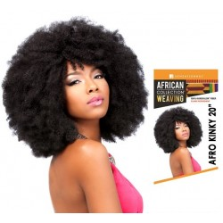 """SENSATIONNEL SYNTHETIC HAIR BRAIDS AFRICAN COLLECTION AFRO KINKY BULK 20"""""""