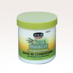 AFRICAN PRIDE OLIVE MIRACLE ANTI-BREAKAGE LEAVE-IN CONDITIONER CREME