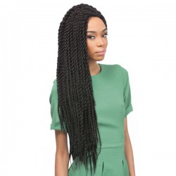 X-PRESSION SYNTHETIC BRAID SENEGALESE TWIST LARGE 24""