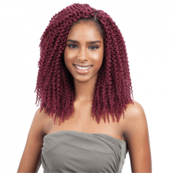 FREETRESS SYNTHETIC CROCHET HAIR BRAIDS ISLAND TWIST BRAID 10""