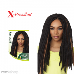 "X-Pression Braid Faux Locs 18"""