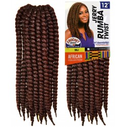 Sensationnel African Collection Jerry Rumba Twist Crochet Braid