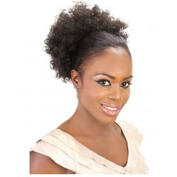 Cherish - Drawstring Pony Tail - Afro Puff