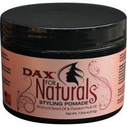 Dax For Naturals Styling Pomade Broccoli Seed Oil & Passion Fruit Oil