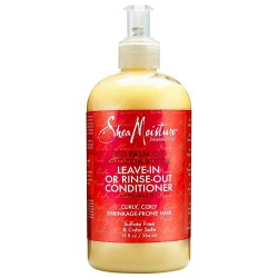 50 % FREE BONUS Shea Moisture Red Palm Oil & Cocoa Butter Leave-in/out Conditioner