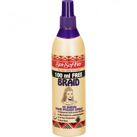 Sta-So-Fro For Braids Hi Sheen Hair Polish Spray