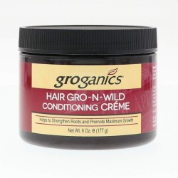 Groganics Hair Gro-N-Wild Conditioning Créme 117g