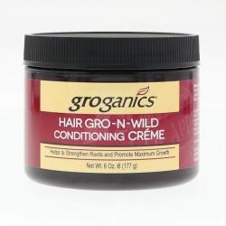 Groganics Hair Gro-N-Wild Conditioning Créme 117g