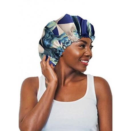 Handmade Sleeping Satin Bonnet Cap