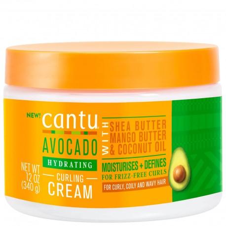 Cantu avocado curling cream