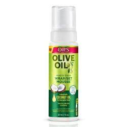 ors olive oil hold & shine wrap/set mousse