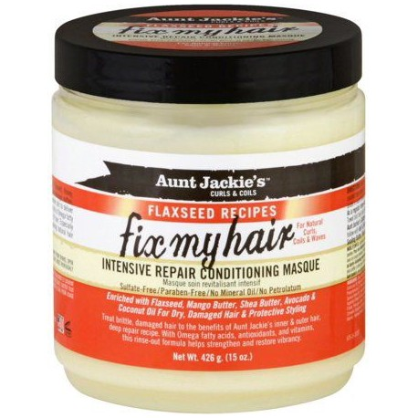 Aunt Jackie's Flaxseed Fix My Hair Masque