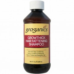 GROGANICS Growthick Hair Fattening Shampoo