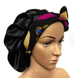 satin bonnet sleeping cap - multy colors