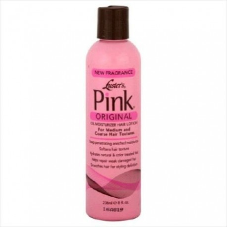 Luster's Products Pink Original Oil Moisturizer Lotion 16 Oz