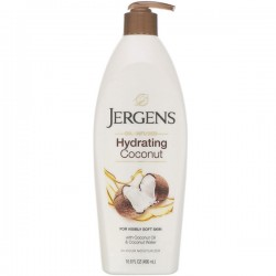 Jergens, Hydrating Coconut Moisturizer, Oil-Infused,